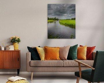 Donkere wolken in de polder van Patrick Herzberg