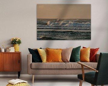 ruige zee van Arie Jan van Termeij