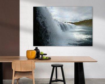 IJsland, Faxifoss waterval van Discover Dutch Nature