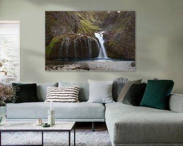 IJsland, Stjornarfoss waterval van Discover Dutch Nature