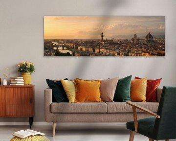 Florenz Panorama von Robin Oelschlegel