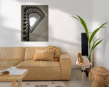 Treppe mit Aussicht von Karin Bazuin