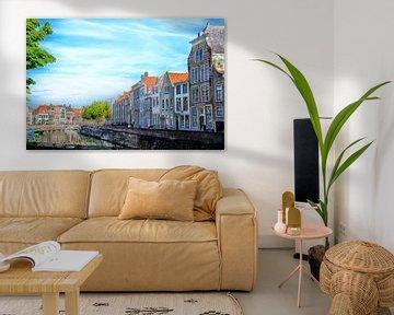 Grachtenpanden Middelburg