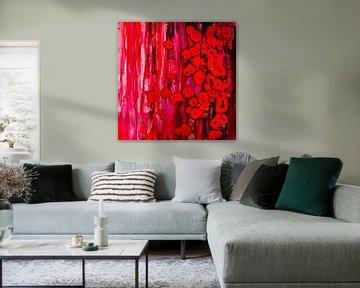 Eenvoudig rood van Agnieszka Zietek