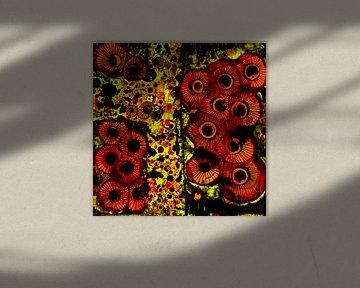 Blumenbeete 1 von Agnieszka Zietek