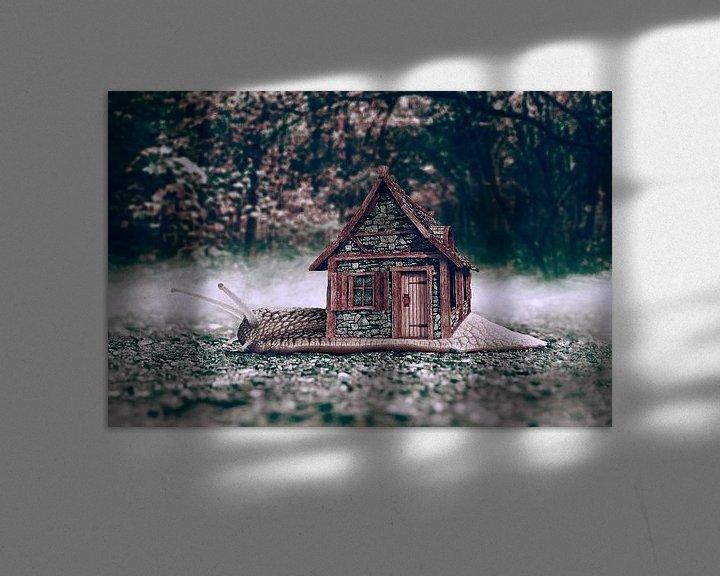 Impression: Home is were the snail is sur Elianne van Turennout