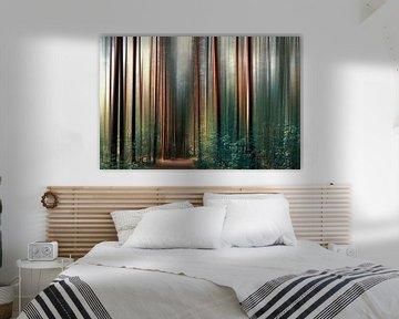 magisch bos van Violetta Honkisz