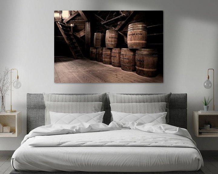 Beispiel: Vaten verfpigment in oude molen  von Tammo Strijker