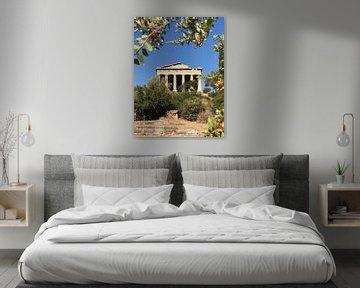 Tempel der Hephaistos von Liselotte Helleman