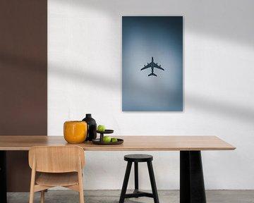 vliegtuig abstract van vedar cvetanovic