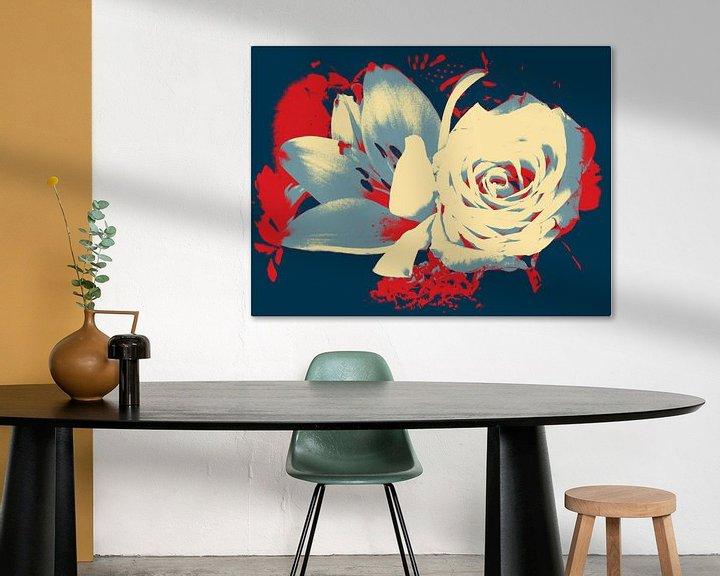 Beispiel: Rose & Lelie von Nicky`s Prints