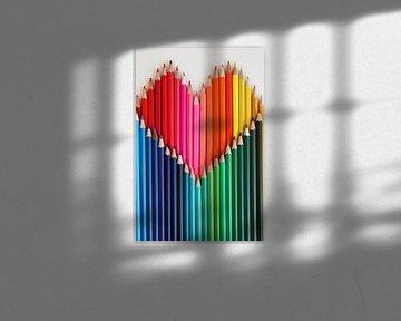 De kleuren van het hart van Tesstbeeld Fotografie