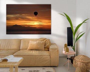 Met de luchtballon naar Tenerife bij zonsopkomst van Tejo Coen