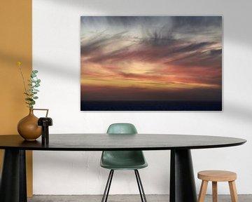 Atlantische zonsondergang van Maarten Heijkoop