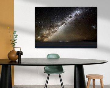 Milchstraße über den Salar de Uyuni von Maarten Heijkoop