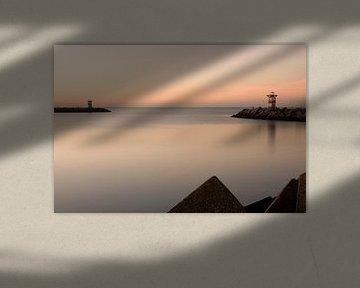 Sonnenuntergang in Scheveningen von Simone Meijer