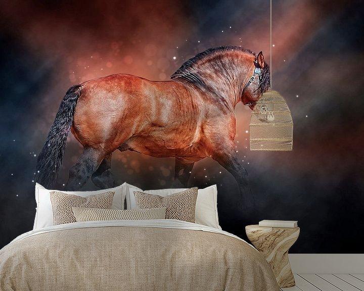 Beispiel fototapete: Schöne Pferde von Peter Roder