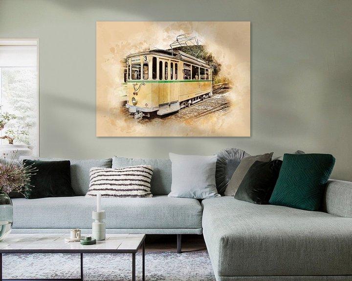 Sfeerimpressie: Historische tram van Peter Roder