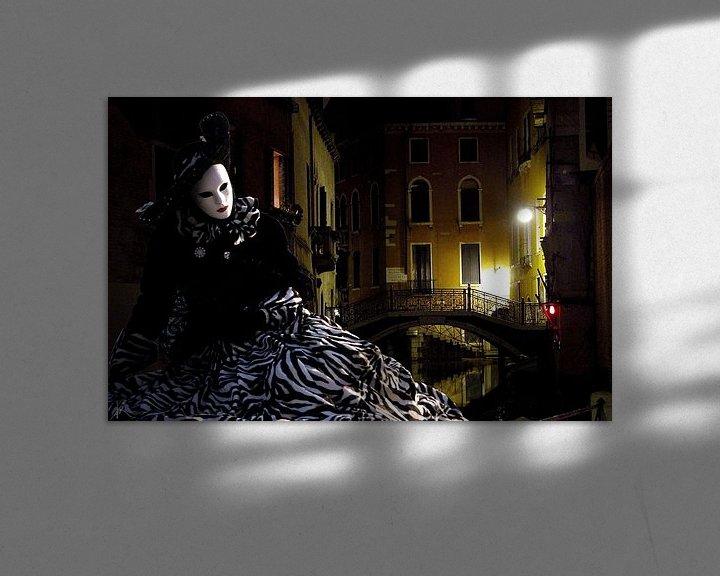 Beispiel: Venezianischer Karneval von Harald Fischer