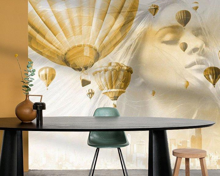 Beispiel fototapete: Fliegende Träume von Harald Fischer