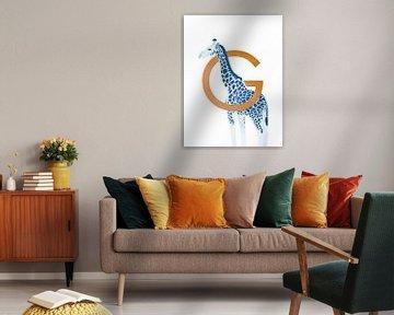 G - Giraffe van Goed Blauw