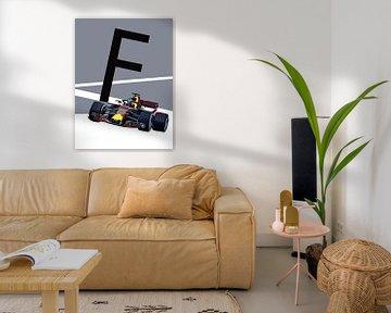 F - Formel 1 von Goed Blauw