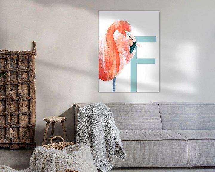 Beispiel: F - Flamingo von Goed Blauw