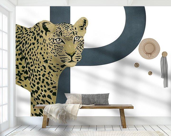 Beispiel fototapete: P - Panther von Goed Blauw