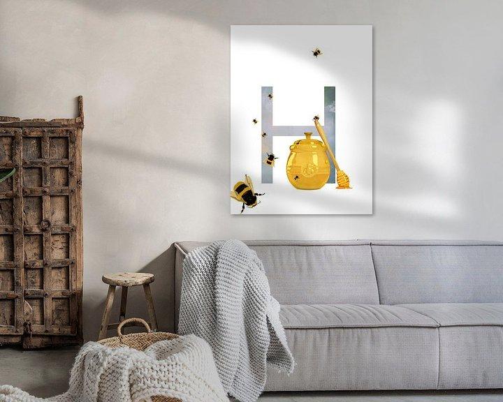 Beispiel: H - Honig von Goed Blauw