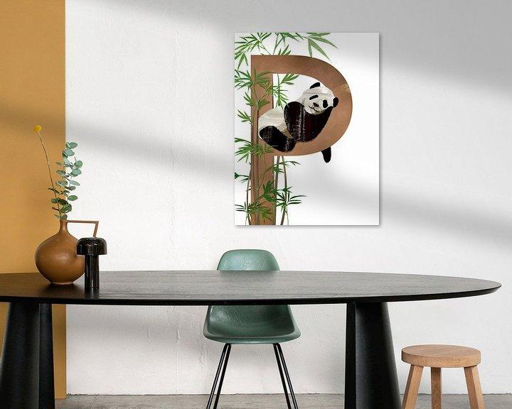 Beispiel: P - Panda von Goed Blauw
