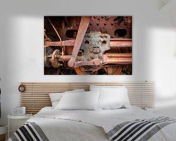 Antriebsstange alte Dampflokomotive von Pixel Meeting Point