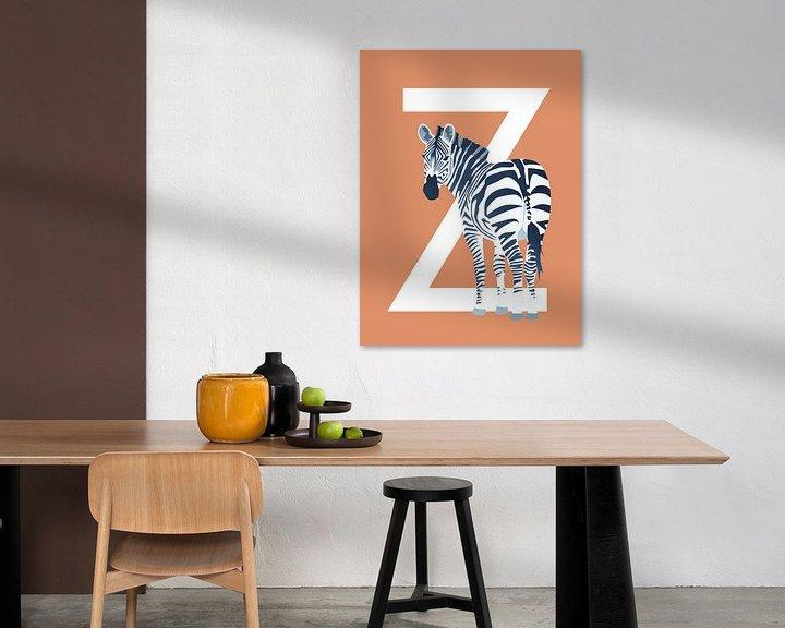 Beispiel: Z - Zebra von Goed Blauw