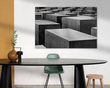 Holocaustmonument, Berlijn van Michael Fousert