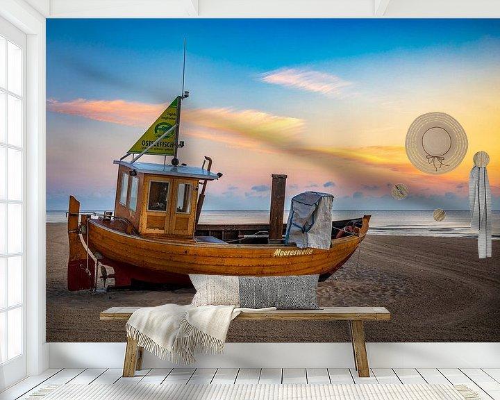 Beispiel fototapete: Die Meereswelle... von Frank Heldt