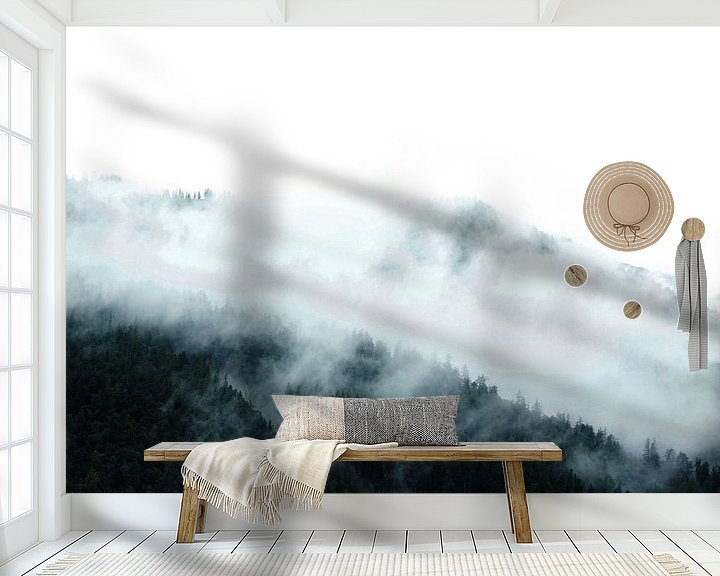 Sfeerimpressie behang: Landschap Oostenrijk van pien slooter