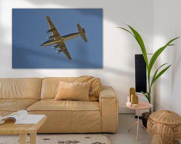 Compleet chroom gespoten vliegtuig van Redbull wings van Quint Wijnhoven