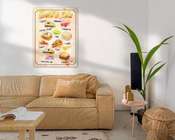 Sandwich - Snack - Fast food - Fast food van Printed Artings