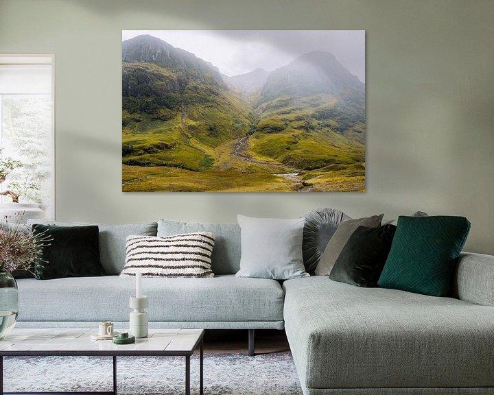 Beispiel: Glencoe in Schottland von Thea.Photo