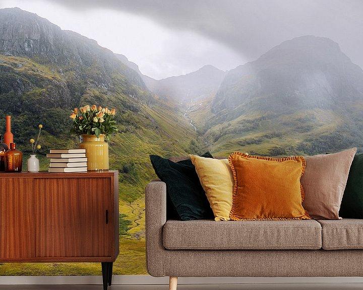 Beispiel fototapete: Glencoe in Schottland von Thea.Photo