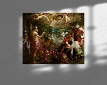 Gemälde, Die Taufe des Ältesten von Königin Candace von Äthiopien von Atelier Liesjes