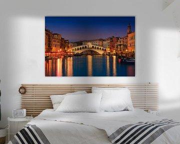 Rialto-Brücke, Venedig, Italien