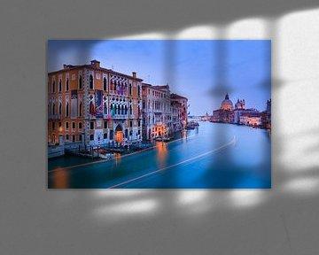 Zonsondergang in Venetië van Henk Meijer Photography