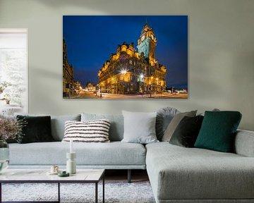 Das Balmoral Hotel in Edinburgh, Schottland.