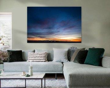 Colorfull Sky van Merijn Geurts