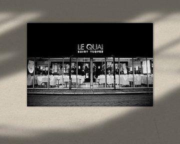 Nachtclub Le Quai Saint-Tropez von Tom Vandenhende
