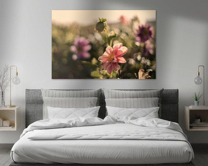 Sfeerimpressie: Pastelkleurige bloemen van Tammo Strijker