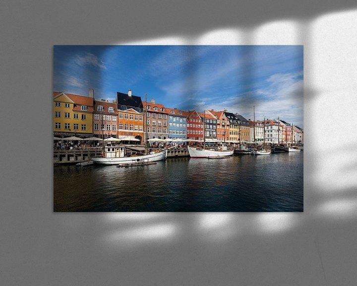 Sfeerimpressie: Nyhavn Kopenhagen van Bart van Dinten