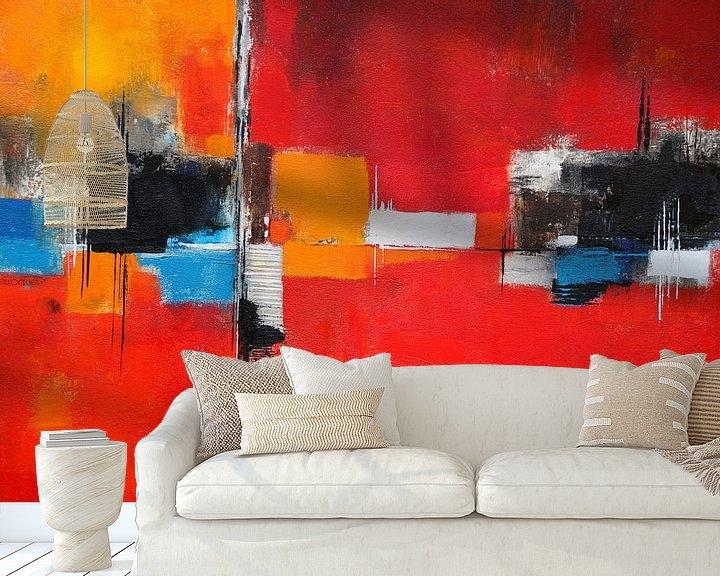 Beispiel fototapete: Abstrakt Nr.26 von Claudia Neubauer