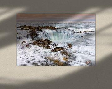 Thor's Well, Oregon van Henk Meijer Photography