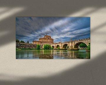 Rome - Castel Sant'Angelo long exposure van Teun Ruijters